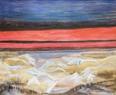 Marguerite Zorach, 'Frozen Marshes at Dawn', ca. 1950