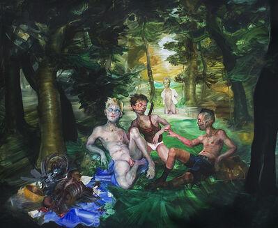 José Luis Carranza, 'Le déjeuner sur l'herbe', 2019