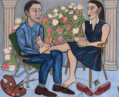 Eileen Cooper, 'Secret Garden', 2019