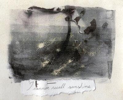 Leigh Blanchard, 'I cannot recall sunshine', 2019