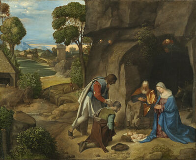 Giorgione, 'Adoration of the Shepherds', 1505-1510