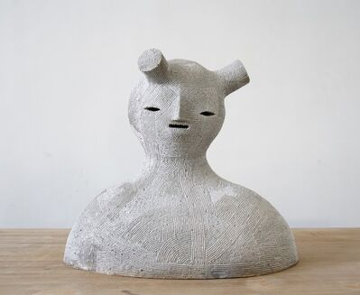 En Iwamura, 'Neo-Jomon: White Shadow', 2019