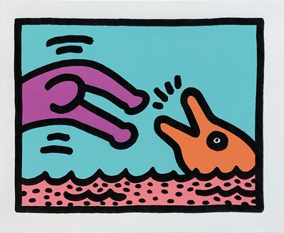 Keith Haring, 'Pop Shop V (A)', 1989