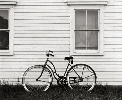 Ellen Auerbach, 'Bicycle, Maine', 1940