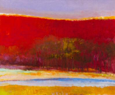 Wolf Kahn, 'Near Mt. Monadnock II', 1992