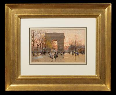 Eugène Galien-Laloue, 'Arc de Triomphe', 1925-1930