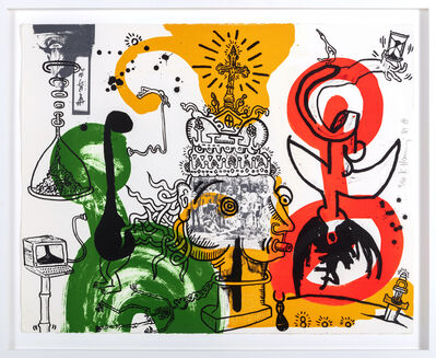 Keith Haring, 'The King', 1989