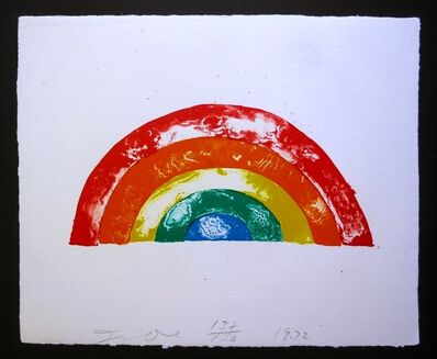 Jim Dine, 'Rainbow', 1972