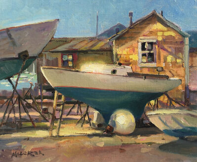 Leonard Mizerek, 'Boatyard Blues', 2018