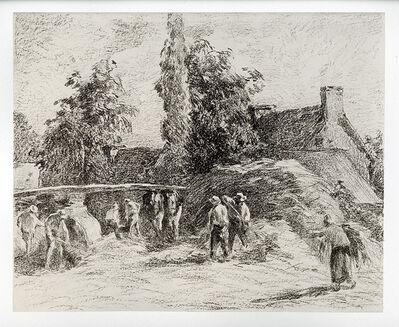 Camille Pissarro, 'La Batterie à Montfoucault', 1895