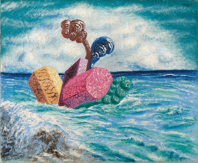 Alberto Savinio, 'Chevaucher marine', 1929