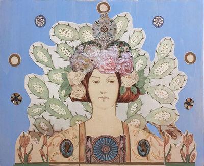 Deming King Harriman, 'Deco Flora', 2020