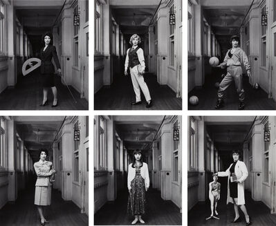Yasumasa Morimura, 'Selected Images from School Teacher', 1996