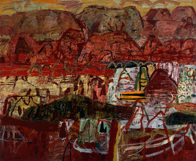 Elisabeth Cummings, 'Pilbara landscape', 2003