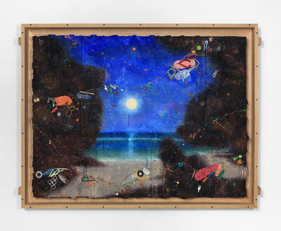 Ashley Bickerton, 'Padang Moon', 2020