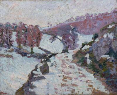 Armand Guillaumin, 'Gelée blanche à Crozant', ca. 1905