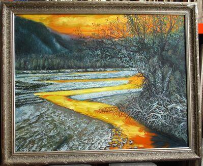 Zhang Shengzan 张胜赞, 'Barea river', 2007