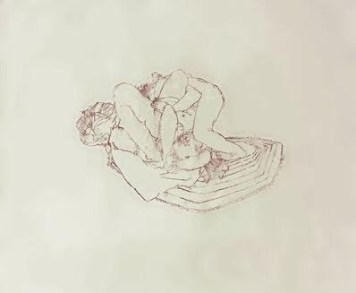 Josephine Taylor, 'Rug Drawing #2 (hammer fist/mauve)', 2011