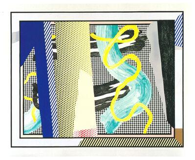 Roy Lichtenstein, 'Reflections on Brushstrokes ', 1990