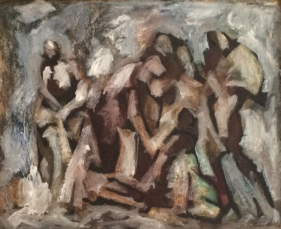 Maurice Golubov, 'Rescue', ca. 1945