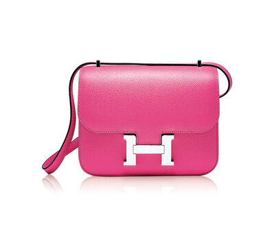 Hermès, 'A Rose Azalee Epsom Leather Constance 19 with Palladium Hardware', 2019