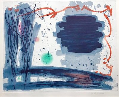 Jacob Kainen, '1970's American Abstract Expressionist Color Stain Aquatint Etching WPA Artist', 1970-1979