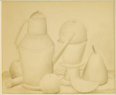 Fernando Botero, 'Still life', 1977