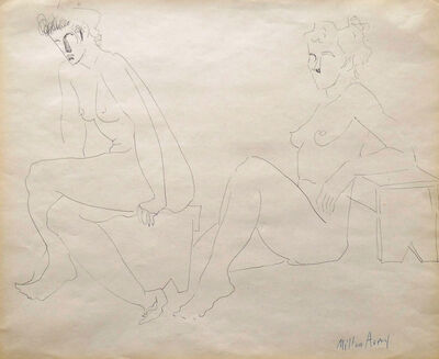 Milton Avery, 'Two Nudes', unknown