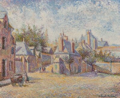 Hugues Claude Pissarro, 'Au Coq Hardi, chez Chapelle et Mariette à Mortagne'