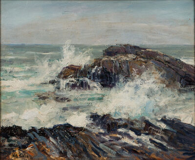 Will Vawter, 'New Harbor Coast, Maine'