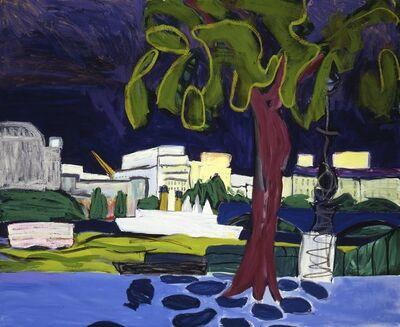 Lucy Jones, 'London Purple Sky', 1998