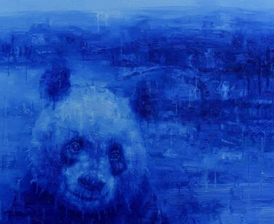 Adam Chang, 'Shan Shui with Panda', 2019