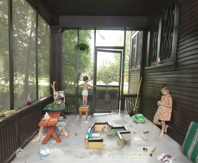 Julie Blackmon, 'Hamster Handbook', 2014
