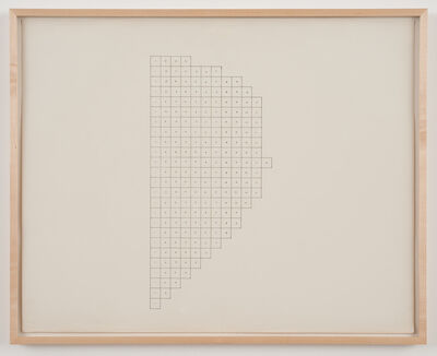 Charles Gaines, 'Regression: Drawing #1, Group #2', 1973-1974