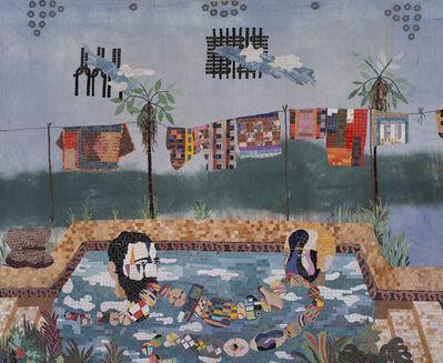 Chiachio & Giannone, 'Criollos en la piscina', 2018