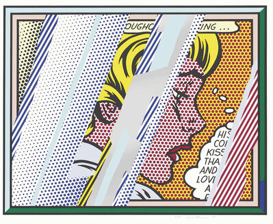 Roy Lichtenstein, 'Reflections on Girl, from: Reflections Series', 1990