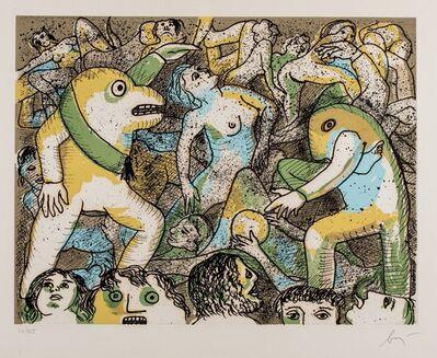 Enrico Baj, 'Figures'
