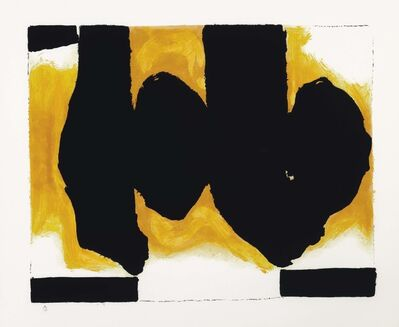 Robert Motherwell, 'Burning Elegy', 1991