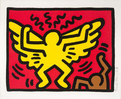 Keith Haring, 'Untitled (From Pop Shop IV)', 1989