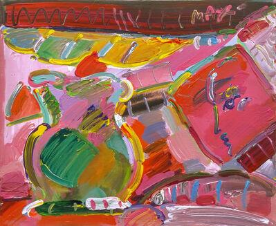 Peter Max, 'STILL LIFE (PINK)', 1988