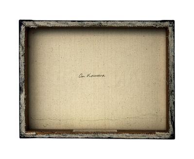 Philippe Gronon, 'Verso n°24, Today - série n°7, par On Kawara, collection particulière en dépôt au Mamac, Nice', 2007