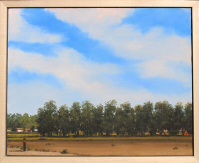 "William Glen Crooks, '""A Row of Trees""', 2019"