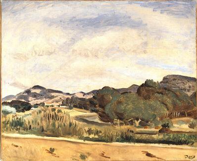 André Derain, 'Vue de la Madrague ', 1922