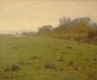 Lovell Birge Harrison, 'Woodstock Farm', ca. 1910