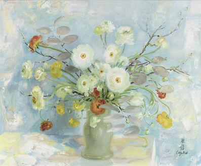 Le Pho, 'Fleurs', 19th Century