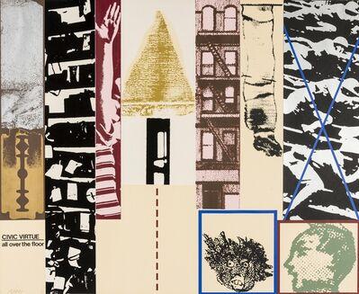 R. B. Kitaj, 'Civic Virtue All Over the Floor (Ramkalawon 26)', 1967