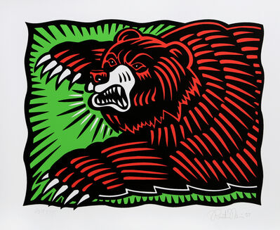 Burton Morris, 'The Bear', 1997