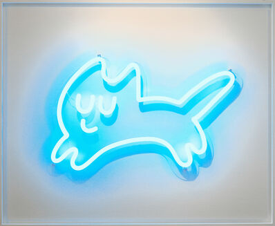 CHANOIR (Alberto Vejarano), 'Ice Blue Cat', 2021