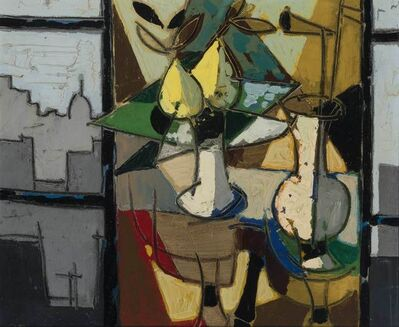 Claude Venard, 'Table Top Still Life with Pears'