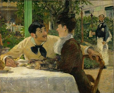 Édouard Manet, 'Chez le Père Lathuille', 1879